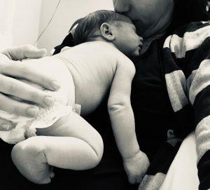 Madre con un recién nacido